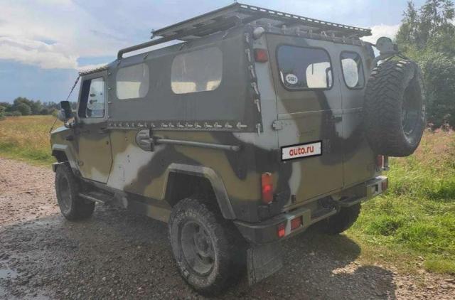 В Русия продават рядък армейски всъдеход, който не се произвежда серийно