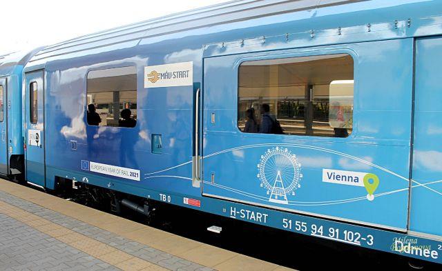 Европейският влак премина през България (СНИМКИ)