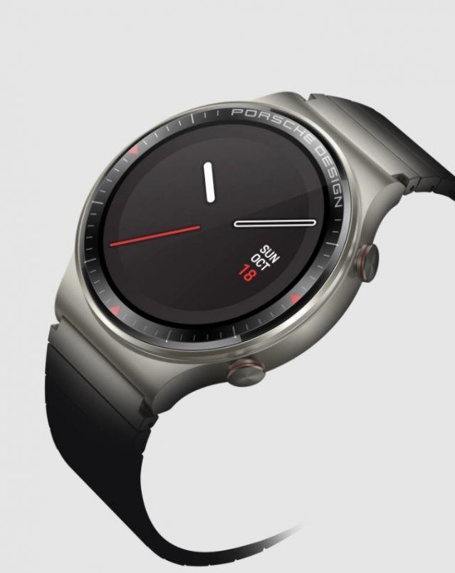 Porsche обедини сили с Huawei и показа нов смарт часовник