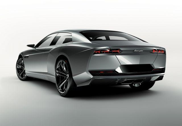 Да си спомним за супер седанa на Lamborghini, който така и не стигна до серийно производство