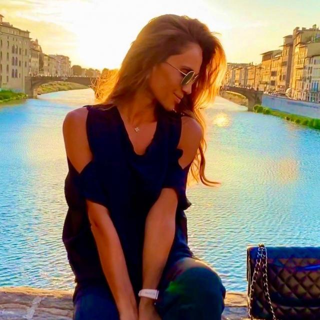 Ивайла Бакалова в сърцето на италианската Ривиера (СНИМКИ)