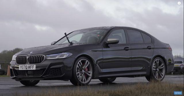 Ще може ли BMW M550i да се справи с Audi RS6? (ВИДЕО)