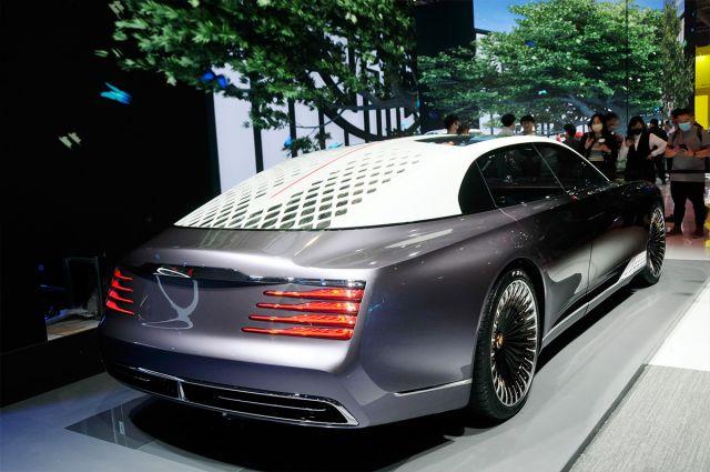 Ето я новата най-луксозна китайска кола