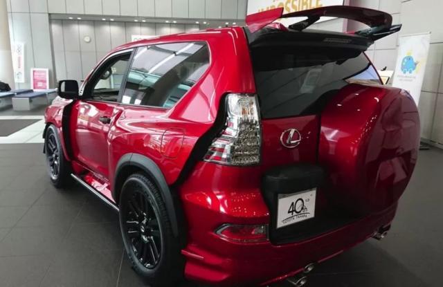 Любопитен тунинг на Toyota Land Cruiser Prado