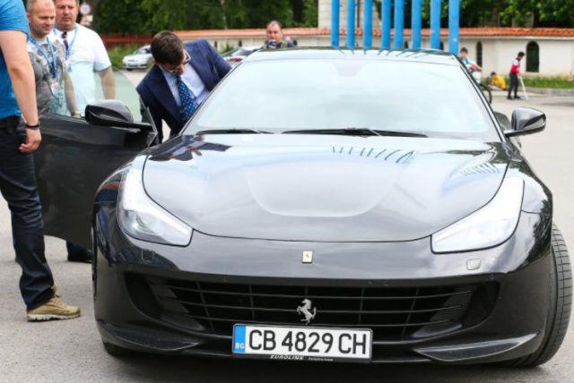 """Джоузеф Диксън дойде на """"Герена"""" с кола за 200 хил. евро"""