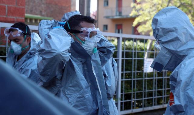 Руснаците изпратиха в Италия специалисти по химическо оръжие