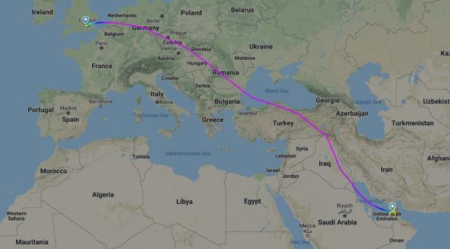 Първи полет на най-големия самолет след четири месеца почивка