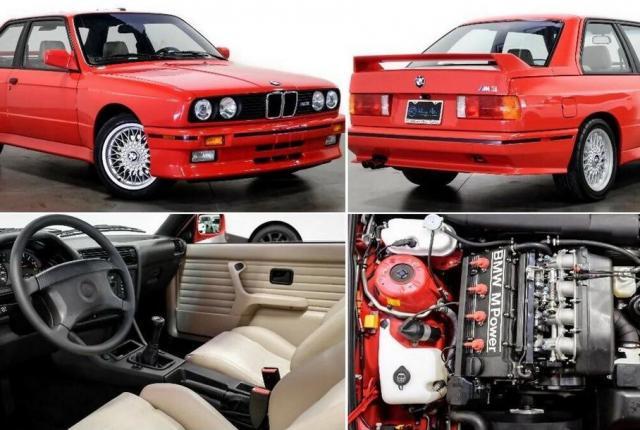 Продава се BMW-то (E30) на Пол Уокър