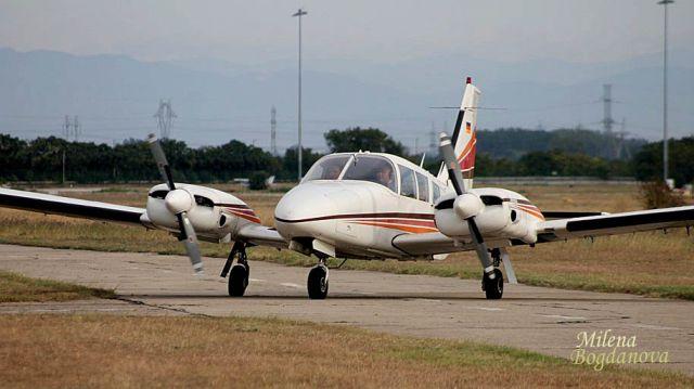Четвъртата въздушна обиколна на България е факт (СНИМКИ)