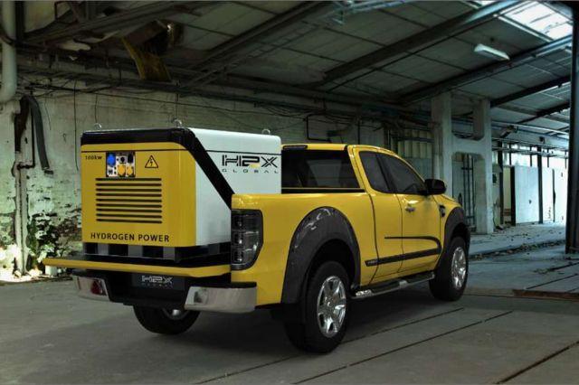 Показаха Ford Ranger на водород