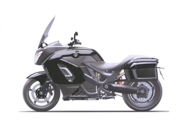 Електрическият мотоциклет на Путин