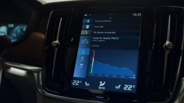 Новата система на Volvo за пречистване на въздуха в купето