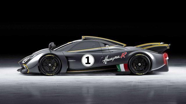 Pagani представи Huayra R с V12 и 850 конски сили
