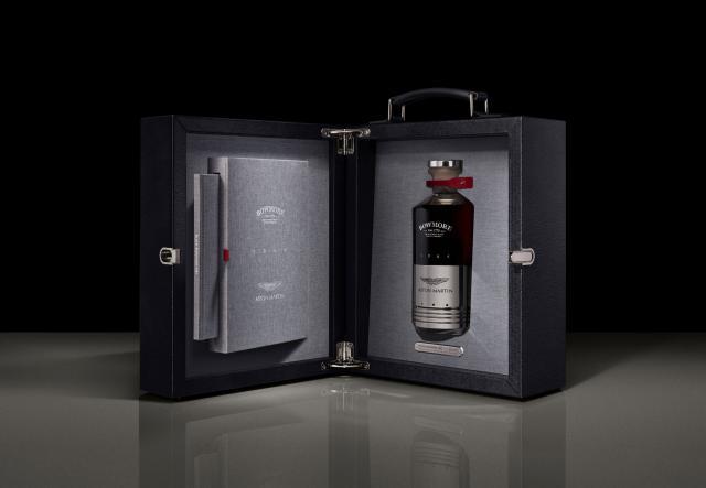 Aston Martin пусна елитно уиски в бутилка от... бутало