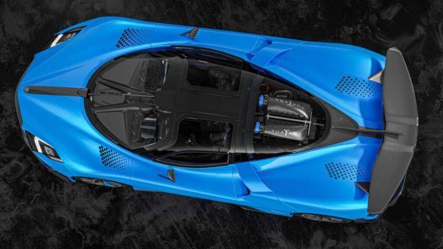 Ето я най-мощната серийна кола в света