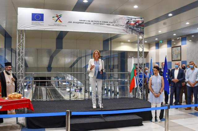 Метровлаковете Inspiro и Siemens Мобилити вече са в експлоатация в софийското метро (СНИМКИ)