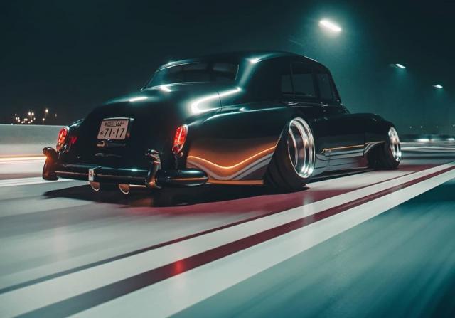 Как би изглеждал Rolls-Royce-ът на боса на японската мафия