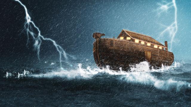 Сензационно: Ной е бил извънземен, изпратен да спаси Земята
