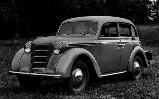 Москвич-400 - първият сериен автомобил в СССР