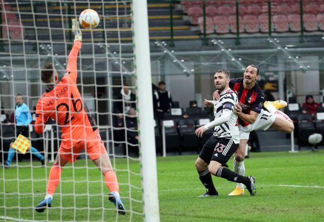 Ман Юнайтед излъга Милан и е на 1/4-финал в Лига Европа (ВИДЕО)