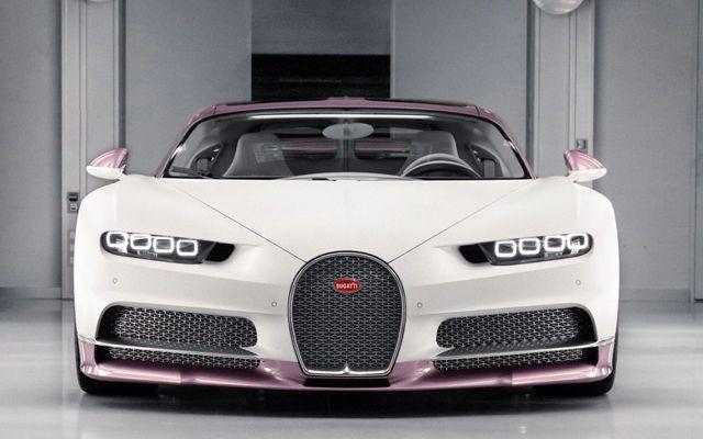 Ето го първото женско Bugatti