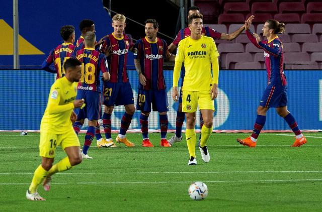 Барселона стартира Ла Лига с разгром, Фати с два гола при успеха над Виляреал (ВИДЕО)