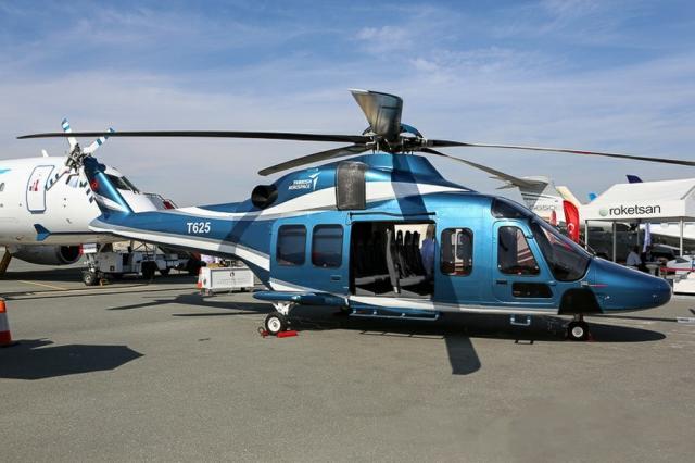 Турският хеликоптер TAI T625 /СНИМКА/
