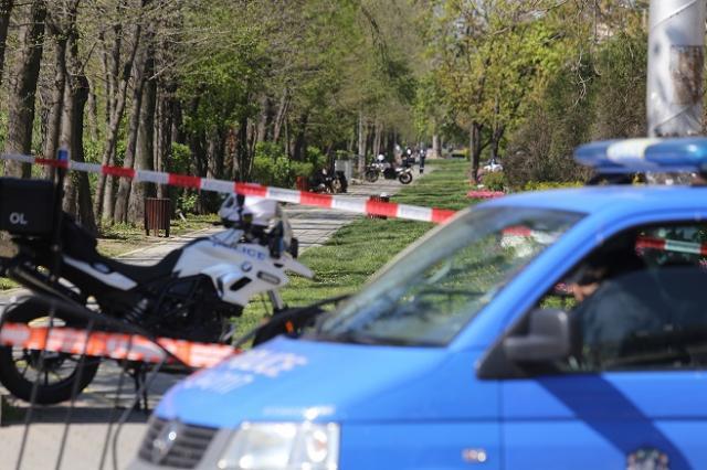 Съмнителен багаж затвори столичен булевард