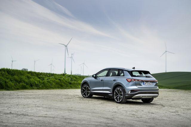 Audi Q4 E-Tron вече изминава над 530км с едно зареждане