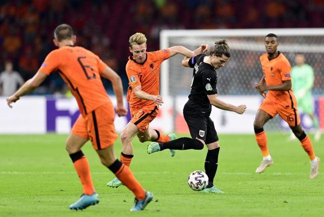 UEFA EURO 2020: Нидерландия си осигури място на 1/8-финалите след победа над Австрия