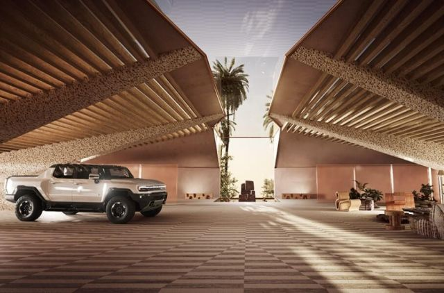 Вижте гаража на бъдещето (с асансьор и стъклен покрив) ВИДЕО