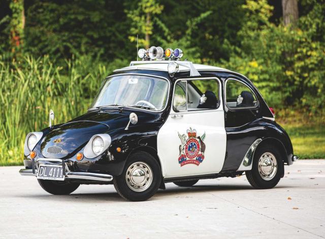 Продава се най-необичайната полицейска кола на всички времена