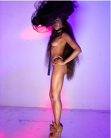 """Резултат с изображение за """"Наоми Кембъл лъсна гола"""""""