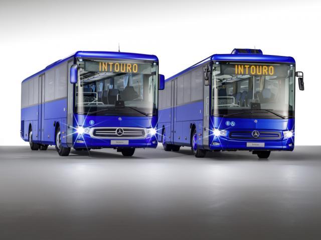 Нови градски и междуградски автобуси на ток от Mercedes