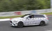 Новият четирицилиндров Mercedes C63 показа колко е бърз на Нюрбургринг (ВИДЕО)