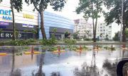 Мощна буря се изви над Варна (ВИДЕО)