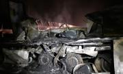 Голям пожар бушува в петричко село