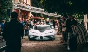 Bugatti за $9 млн. и предшественикът му зашеметиха тълпите във Villa d'Este
