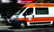 Кола излетя от пътя и се приземи в Борисовата градина