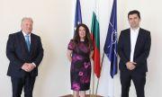Министрите на външните работи и на икономиката се срещнаха с посланика на САЩ Херо Мустафа
