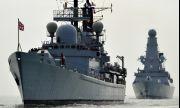 Кралският флот не се впечатли от заплахите на Русия