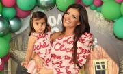 Преслава отпразнува втория рожден ден на дъщеря си (ВИДЕО)