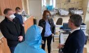 Във Втора градска ще лекуват COVID-19 със система за телемедицина (СНИМКИ)