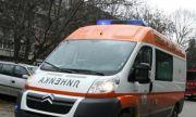 Моторист се заби във валяк край Монтана