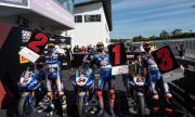 Yamaha окупира подиума в Световния супербайк шампионат