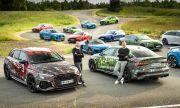 Audi показа новото RS3 заедно с останалите най-мощни модели на марката