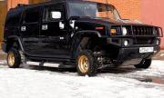"""Hummer H2 смени """"обувките си"""" с 13-цолови колела от Жигули (ВИДЕО)"""