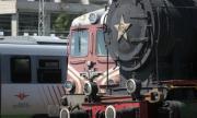 Локомотив на пътнически влак се запали край Павликени