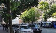 София се напълни с полиция преди