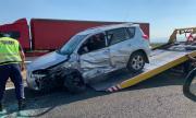 Жена шофьор опита да се самоубие в насрещното платно на АМ